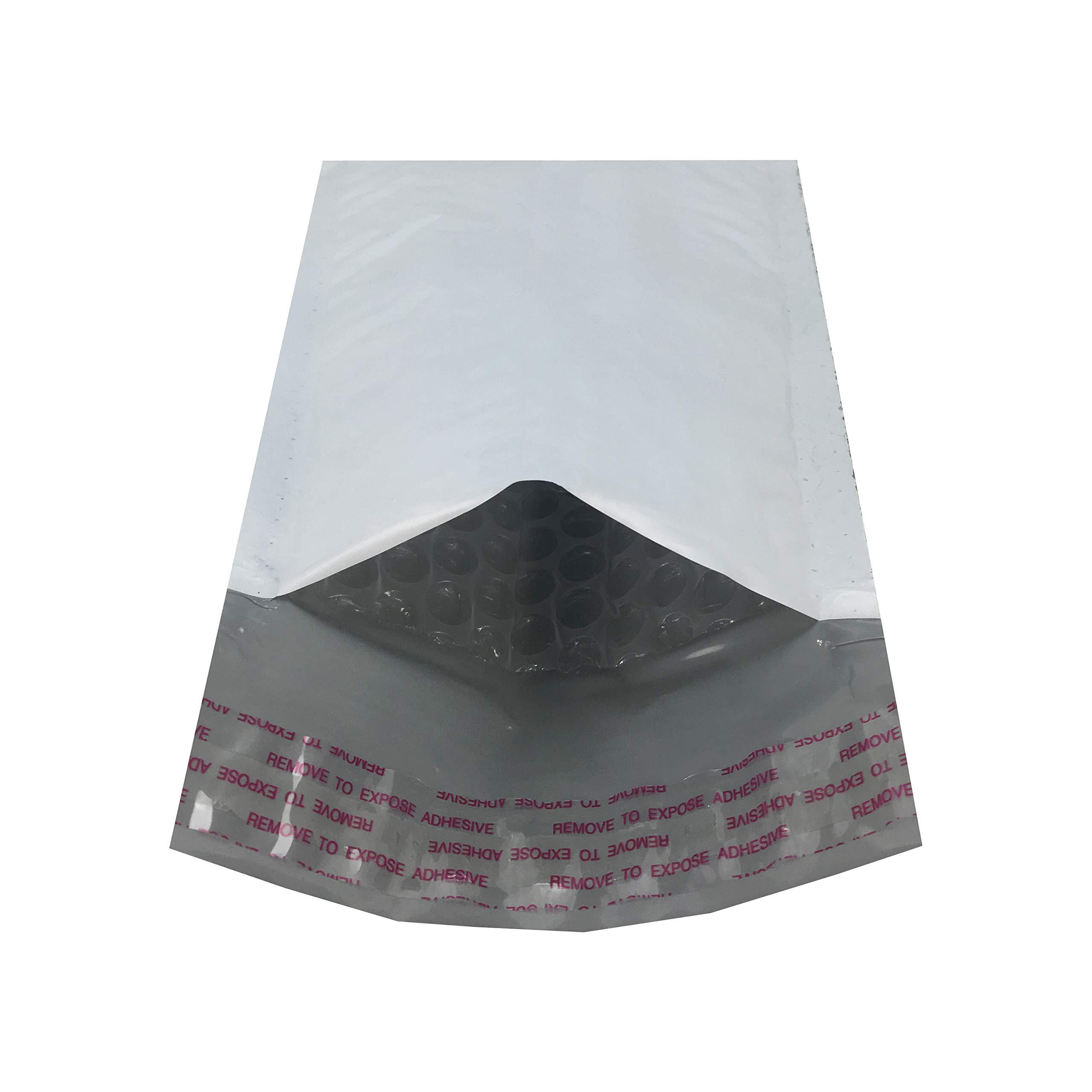 25 Sobres con burbujas de polietileno blanco (20x10cm)