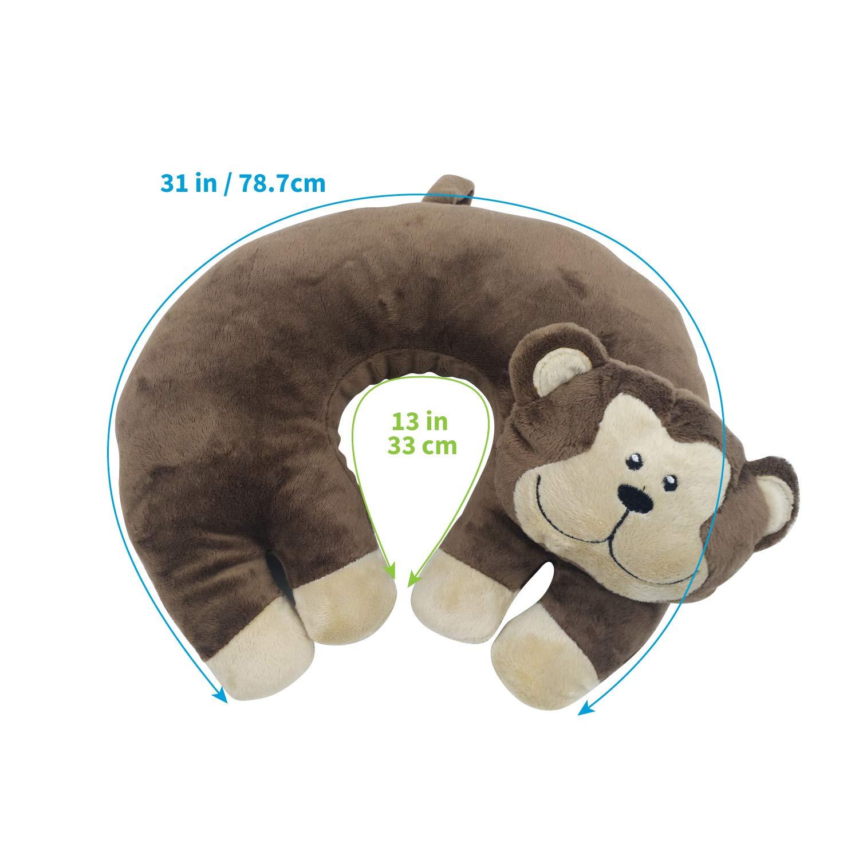 Amazon.com: Dewarfami Animal Neck Travel Pillow U Shape for ...