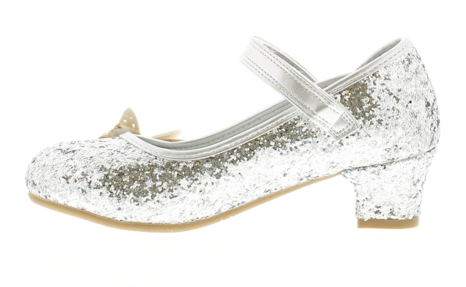 Goody 2 Shoes Sinead Girls Party Shoes Silver - Silver - UK Size 13:  Amazon.co.uk: Shoes & Bags