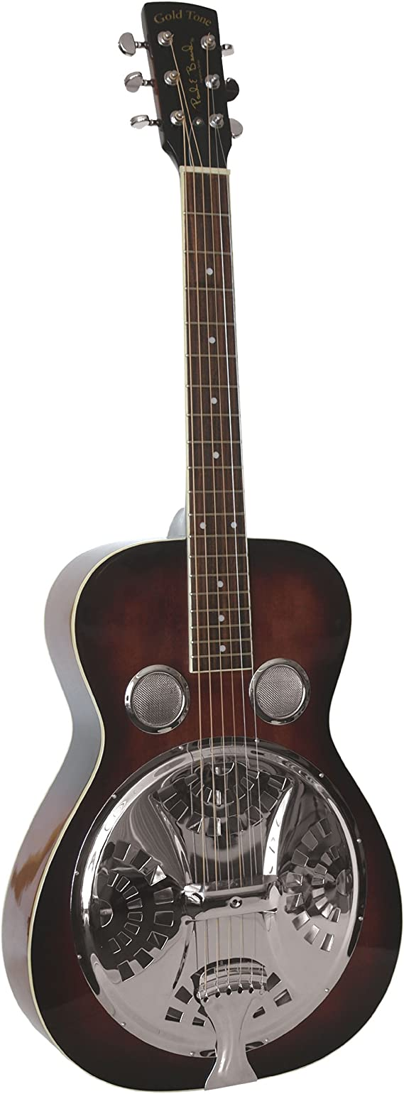 Gold Tone Paul Beard Signature Series PBR Roundneck Resonator Guitar (Vintage Mahogany)