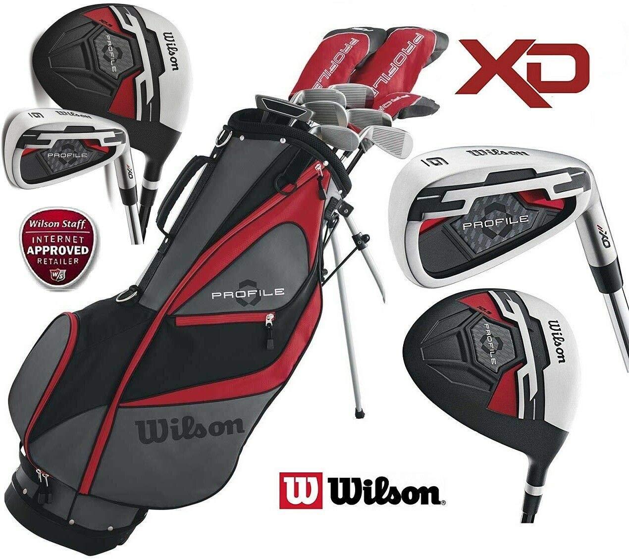 Juego de golf Wilson X31 de hombre para zurdos, palos con ...