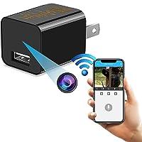 Spy Hidden Camera, WiFi Hidden Camera with Remote Viewing, 1080P HD Nanny Cam/Security Camera Indoor Video Recorder…