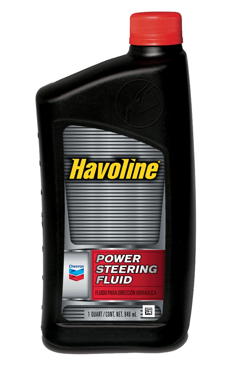 Havoline (221806721-12PK) Power Steering Fluid - 1 Quart, (Pack of 12)