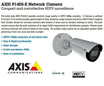 AXIS P1405-E NETWORK CAMERA WINDOWS XP DRIVER