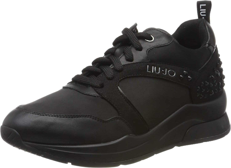 Desgastado Cariñoso Matrona  Liu Jo Karlie 23 Sneaker Black, Zapatillas para Mujer: Amazon.es: Zapatos y  complementos