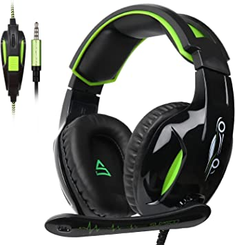 PS4 Gaming Headset 3.5mm wired Over-ear Noise... SUPSOO G813 Xbox One