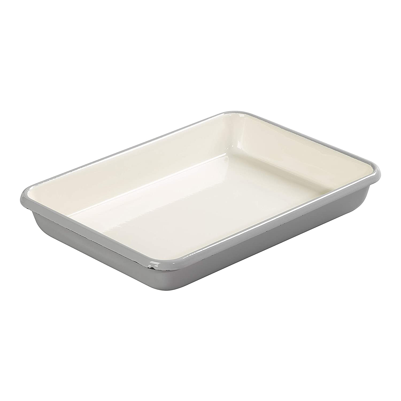 Tala Originals 10B14156 Enamel Bakeware, Cool Grey George East Housewares