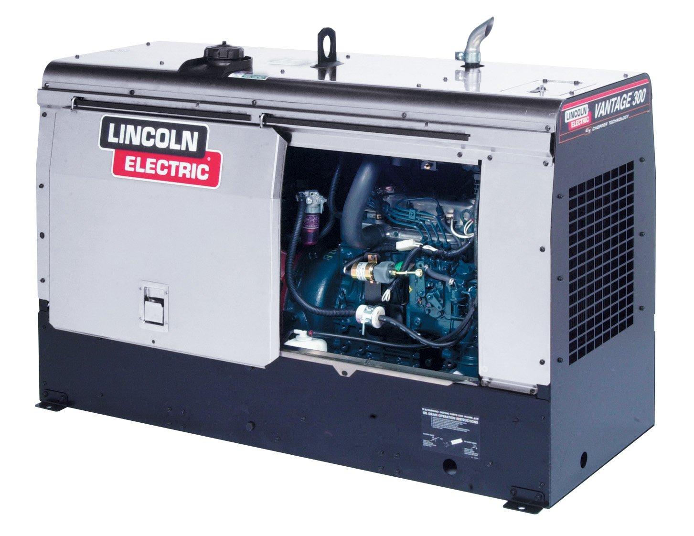 Amazon.com : Lincoln Electric Vantage 300 Kubota EPA Tier 4 Engine Driven Stick Welder/Generator : Garden & Outdoor