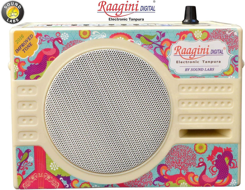 Indian Tanpura Tambura for Vocal and Instrumental Accompaniment Latest Model Raagini Electrionic Drone Machine