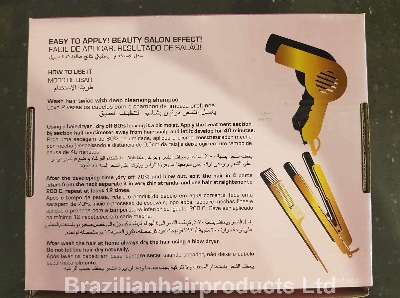 Amazon.com: Brazilian Keratin Smoothing Therapy Capilar Restructuring 2 X 100ML Formaldehyde-Free: Beauty