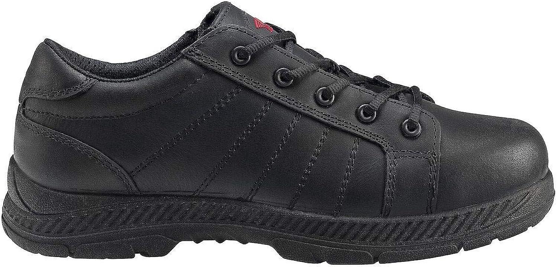 Avenger 7232 Mens Slip Resistant Oxford Work Shoes Steel Toe