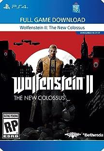 Amazon.com: Wolfenstein II: The New Colossus - <b>PS4</b> [<b>Digital Code</b> ...