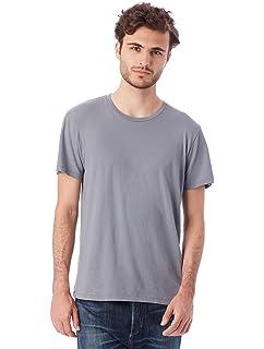f0fd9133 Amazon.com: Alternative Men's Basic Crew T-Shirt: Clothing