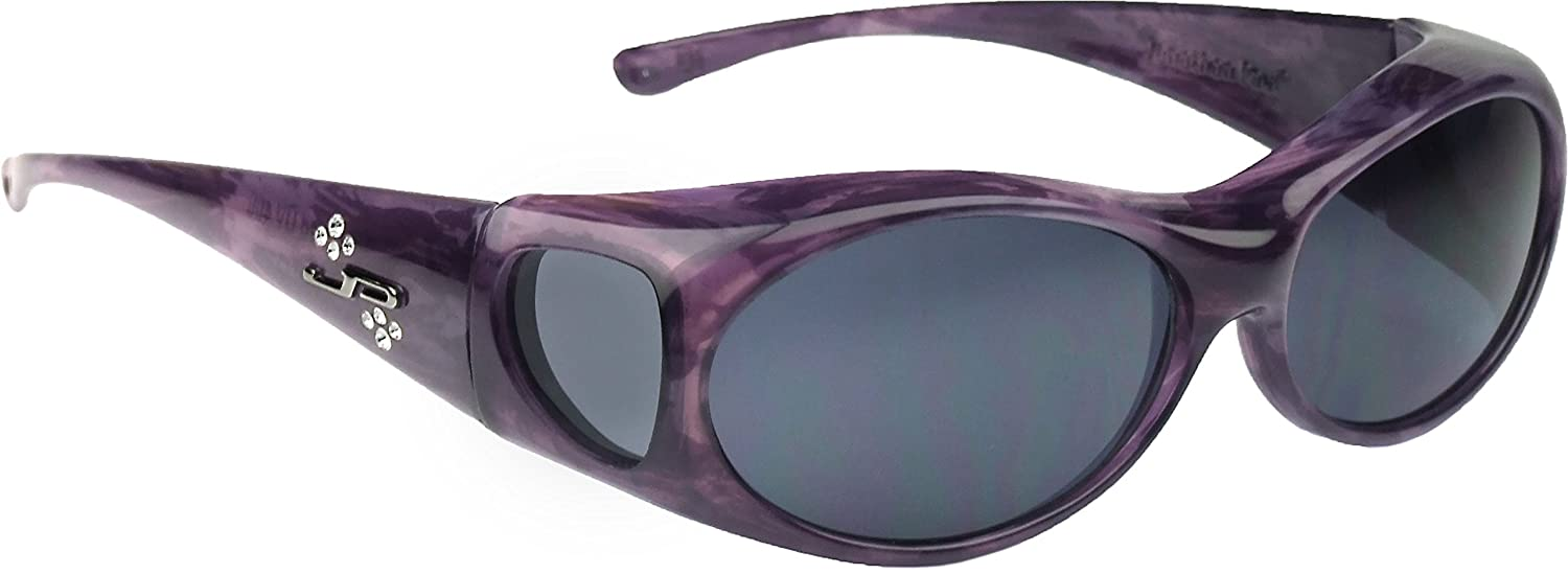 0f0e80398b88a Amazon.com  Jonathan Paul Fitovers Eyewear - Aurora - Purple Haze polarized  Grey - Oval - 133 X 39  Home Improvement
