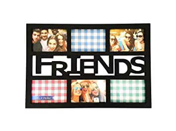 Amazoncom Bestbuy Frames Friends Black 6 Opening 4x6 Wall