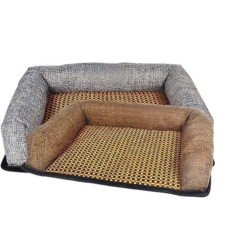 Esterilla de refrigeración para mascotas, perros y gatos, para colocar en verano en camas