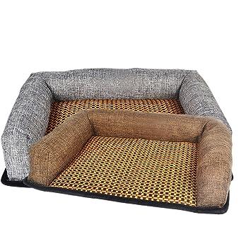 Esterilla de refrigeración para mascotas, perros y gatos, para colocar en verano en camas, trasportines y jaulas: Amazon.es: Productos para mascotas