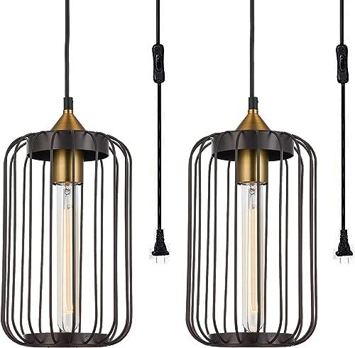 Industrial Pendant Light Sets of 2