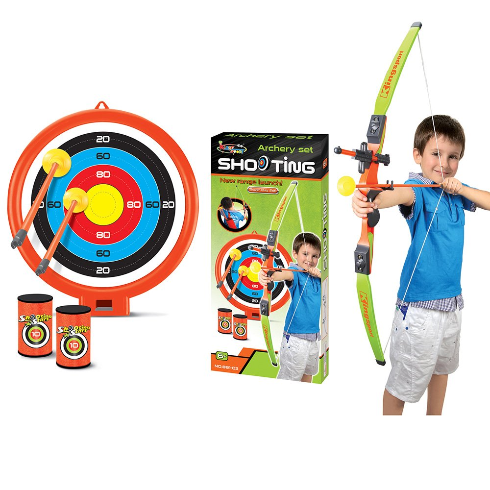 ViVo© Archery Bow and Arrow Set Game with Target Arrows Cans Kids ...
