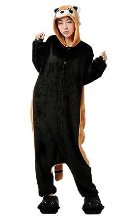 Haroty Adulte Ours Combinaison Pyjama à Capuche Stitch Pajamas Anime