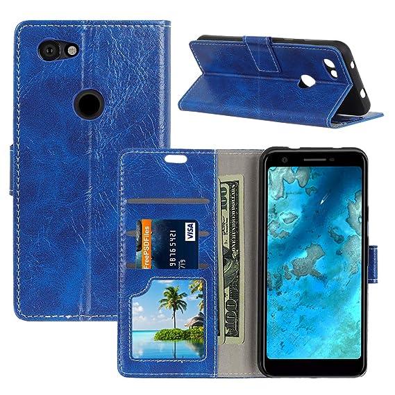 f56e34214983 Amazon.com: Qoosea for Google Pixel 3a Wallet Case Premium PU ...
