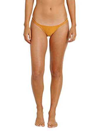a124f69fe5fad Amazon.com  Made by Dawn Seashell Bikini Bottom Ember Rib  Clothing