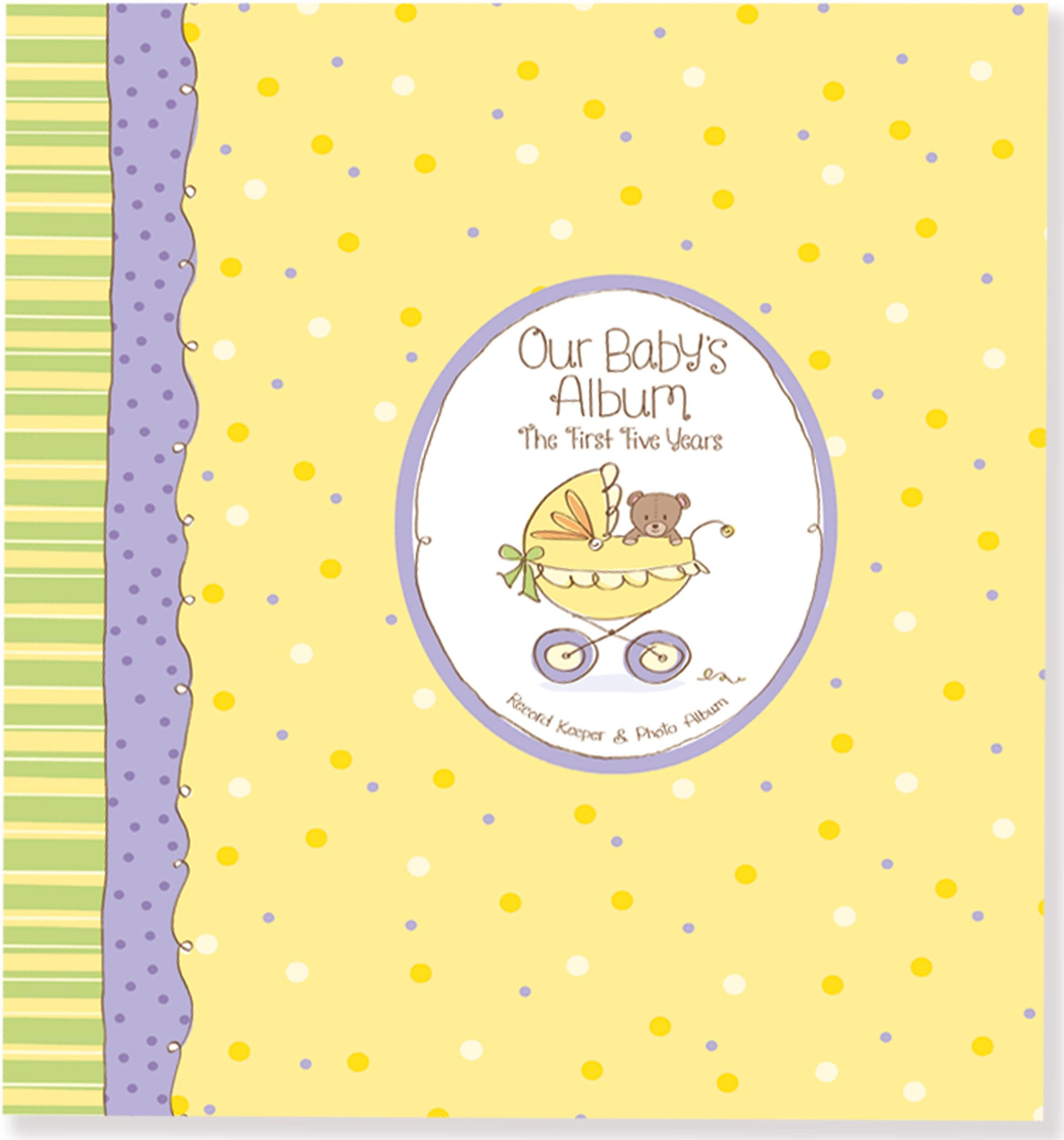 Our Babys Album The First Five Years Baby Book Peter Pauper