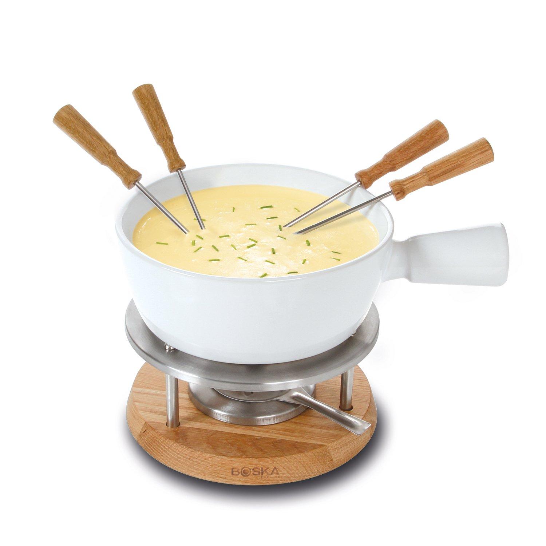 Boska Holland 340029 Bianco Cheese Fondue, 1 Liter, White by Boska Holland