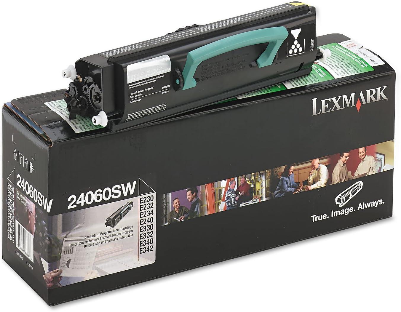 Lexmark 24060SW 24060SW Toner, 2500 Page-Yield, Black