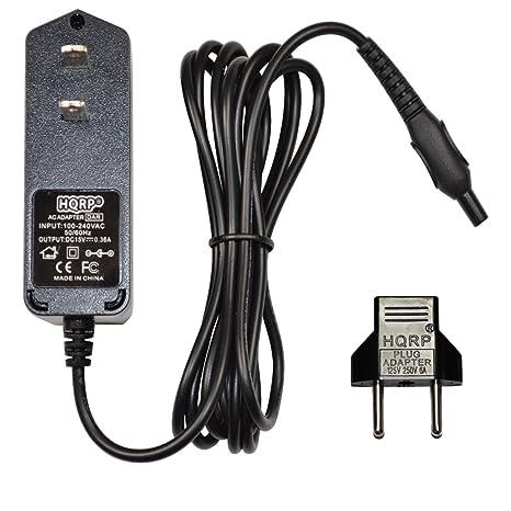 HQRP Cargador para Philips 8500X HQ8500 HQ8000 HQ7310 HQ7360 HQ7300 1059X, 6000 SERIES RQ1090 RQ1180