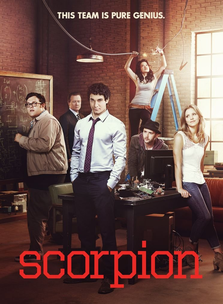 Scorpion Season 1 14x19 inch // 35x48 cm Silk Printing Silk Print Poster Seide Plakat DF771C