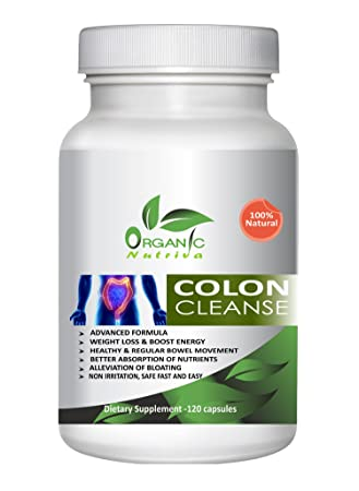 Amazon.com: Colon Cleanse por 100% Natural Orgánico nutriva ...