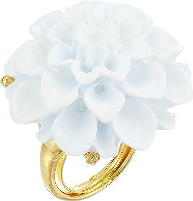 Amazon kenneth jay lane womens goldwhite flower ring white amazon kenneth jay lane womens goldwhite flower ring white one size jewelry mightylinksfo