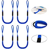 Pack of 4 Bungee Dock Lines for Boat Shock Absorb Dock Tie Mooring Rope Boat Accessories 4-5.5 ft