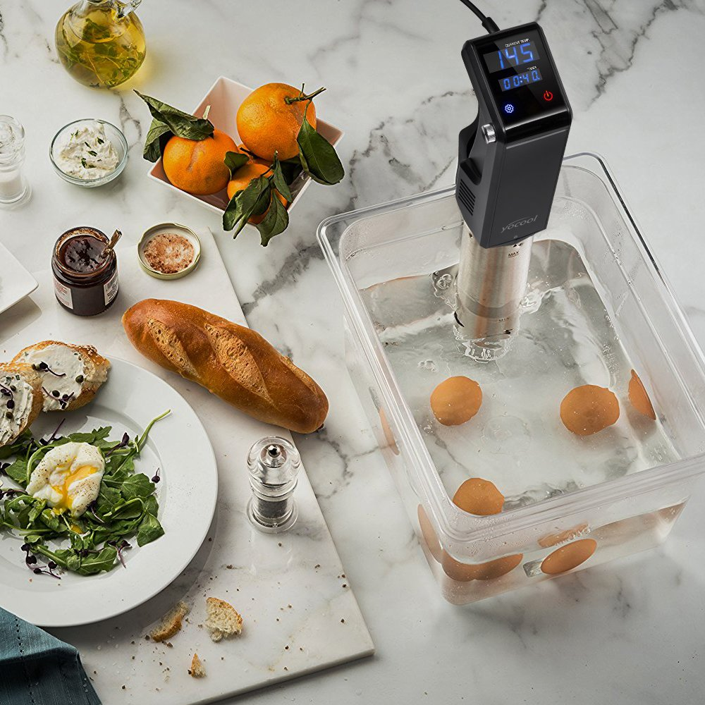 Sous Vide Container for Cooking - Polycarbonate Square Food Storage container - Works With All Sous Vide Strong High Temperature Tolerance