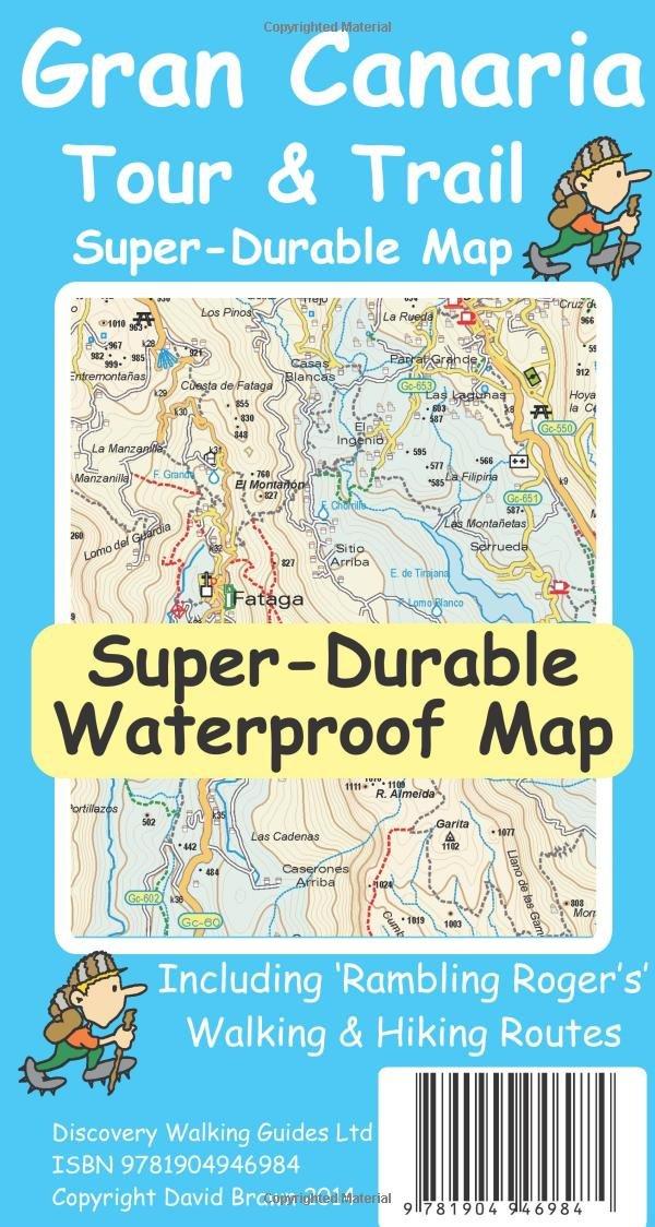 Gran Canaria Tour & Trail Super-Durable Map (3rd ed)