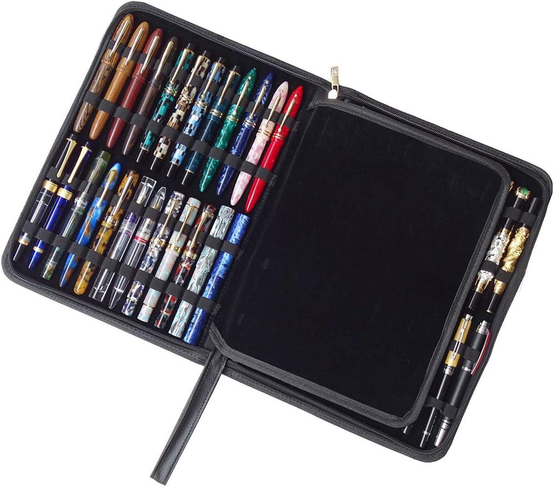Erofa – 48 Fountain Pen Case PU Leather