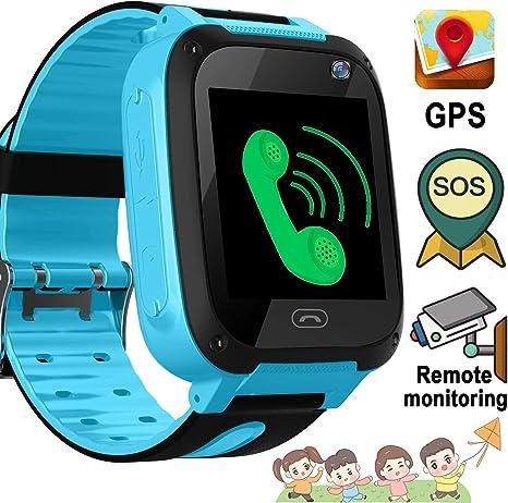 Amazon.com: Reloj inteligente para niños de 3 a 12 años con ...