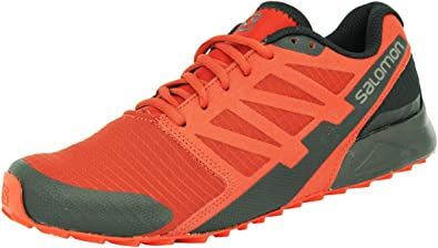 Salomon Men City Cross Trail - Zapatillas para Correr, Color Rojo, Talla 48 EU: Amazon.es: Zapatos y complementos