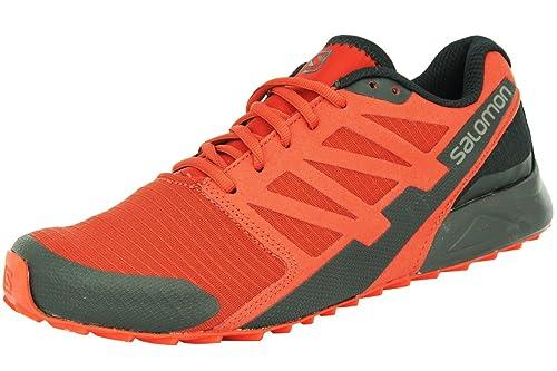 Salomon Men City Cross Trail - Zapatillas para Correr, Color Rojo, Talla 48 EU: Amazon.es: Zapatos y complementos