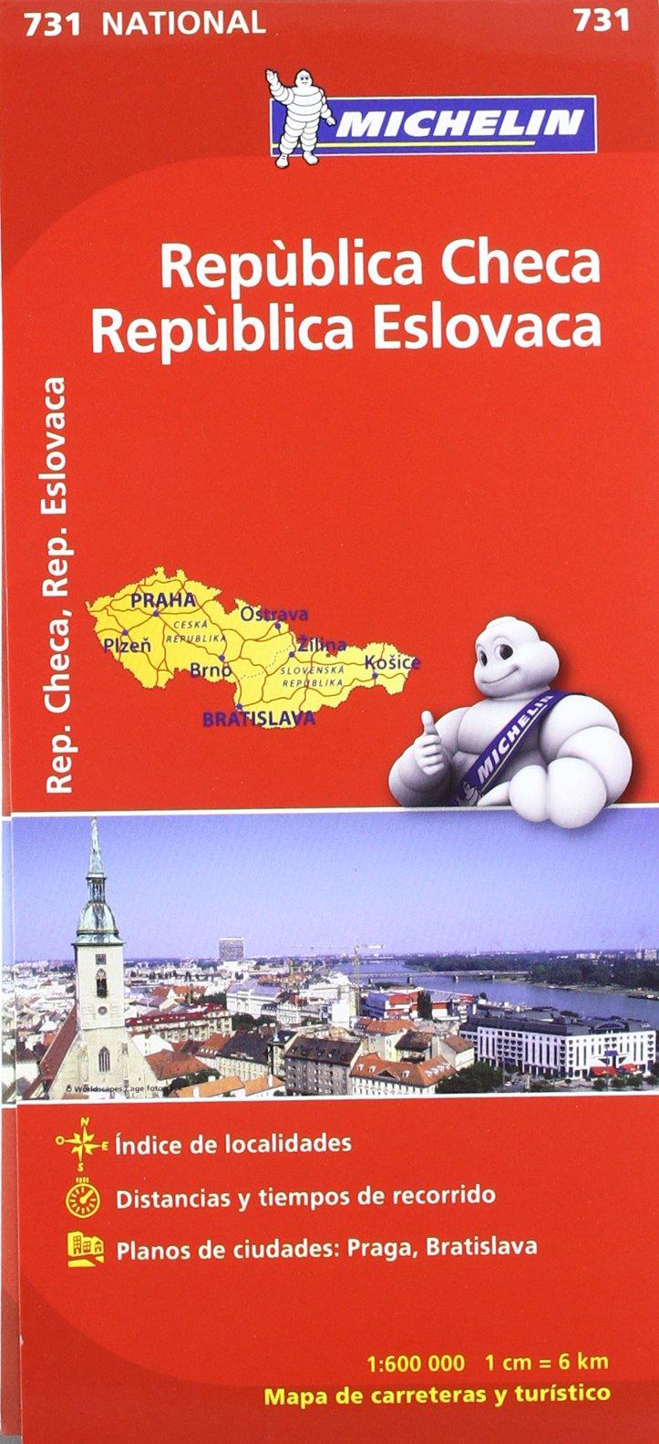 Mapa National República Checa República Eslovaca Mapas National ...
