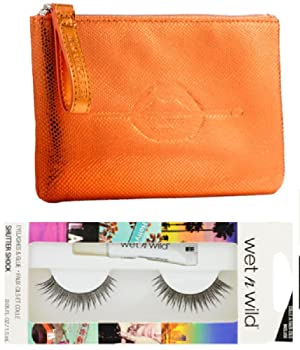 Make up for Ever Festive Carry Pouch and Wet'n Wild Faux Eyelashes