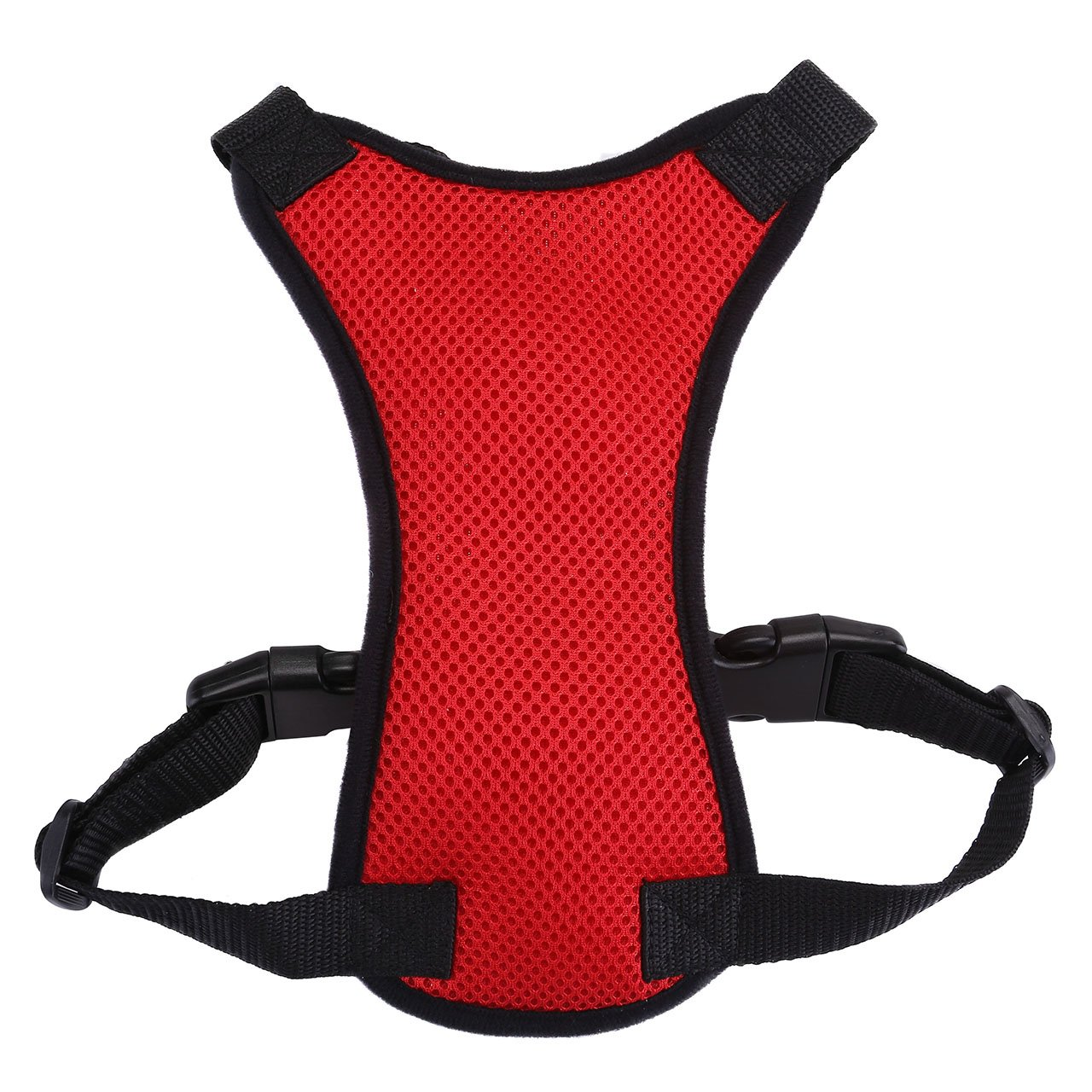 GraceMe Pet Dog Vest Harness Car Soft Mesh Front Range No Pull Harness Adjustable for Rabbit Cat Chiwawa Small Medium Large