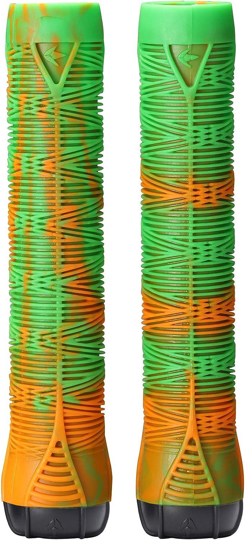 Envy Scooters TPR Handgrips V2 Green//Orange