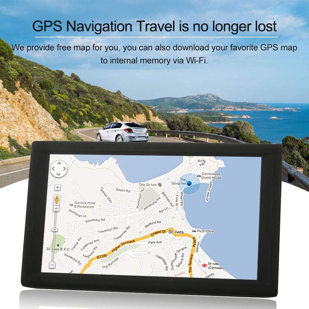 TOOGOO 9 Pulgadas Pantalla Capacitiva del Coche GPS Navegador ...