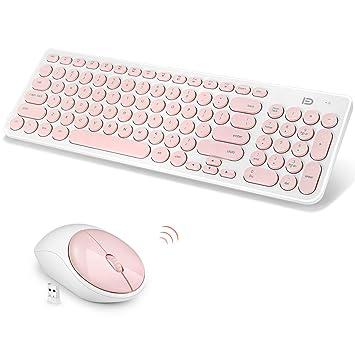 Amazon.com: Combinación de teclado y ratón inalámbricos ...