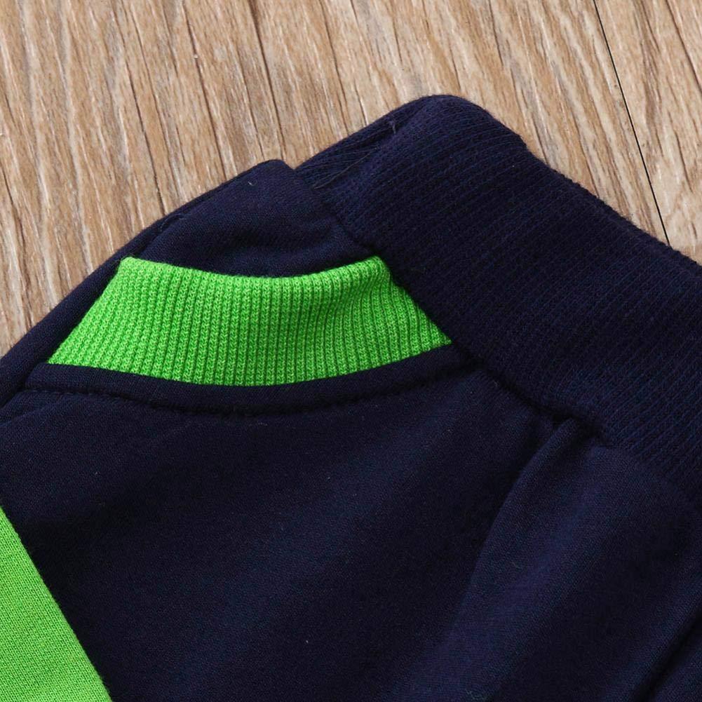 Pantalones Conjunto Traje Oto/ño Invierno Ropa Bebe,❤️ Modaworld Ni/ños Ni/ñas Beb/és Manga Larga Carta Imprimir Top Sudaderas con Capucha Ropa Camisas