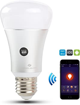 ZeroLemon Color Changing Smart Dimmable LED Bulb