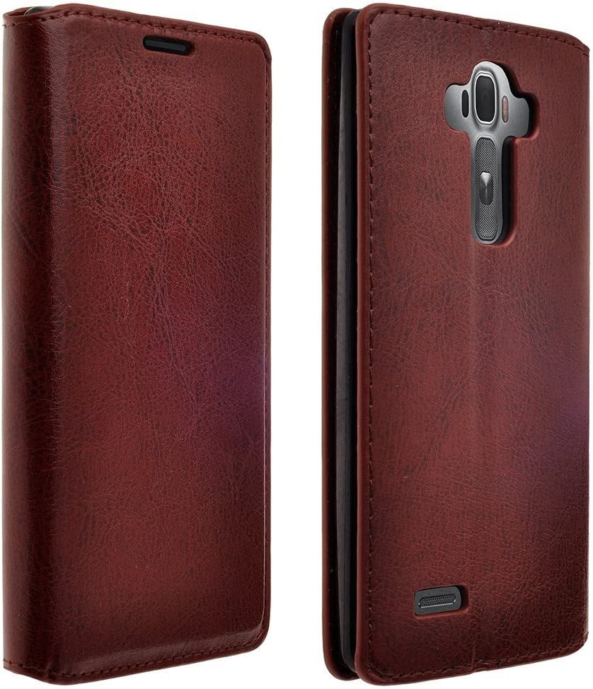 Wydan Case for LG G Stylo LS770, Vista 2 - Credit Card Leather Wallet Style Flip Style Cover Wydan Case for LG G Stylo/Stylus LS770 - Brown