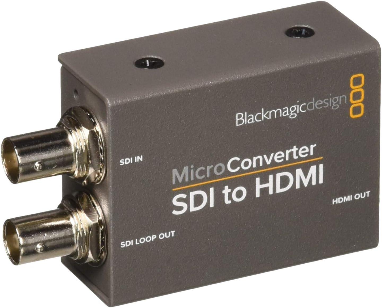 Blackmagic Design Micro Converter Sdi To Hdmi Amazon Co Uk Pc Video Games